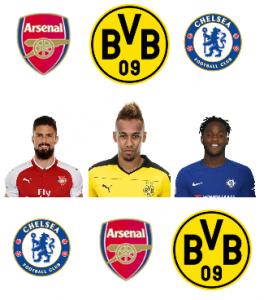 Le transfert à 3 clubs